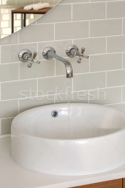 Washroom in modern style Stock photo © bezikus