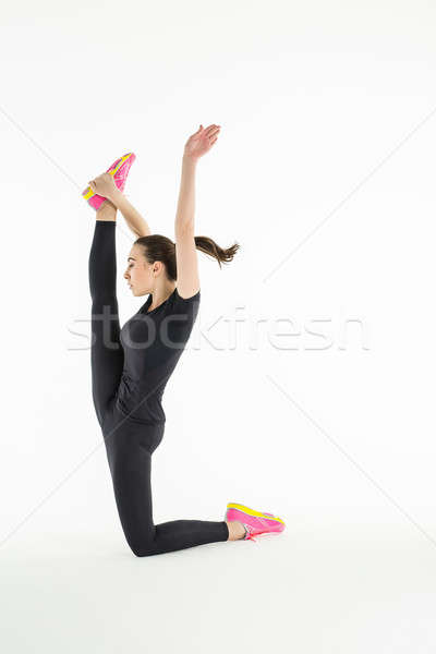 Difficile exercice main Photo stock © bezikus