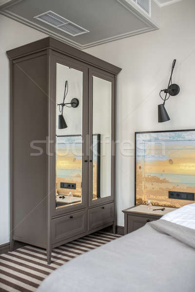 Stylish hotel room Stock photo © bezikus