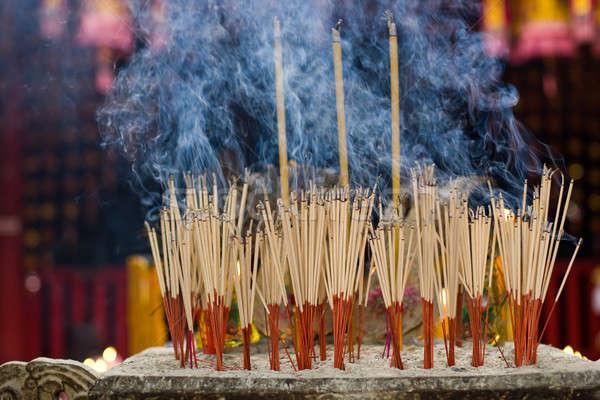 Ołtarz świątyni ognia czerwony kolor Zdjęcia stock © bezikus