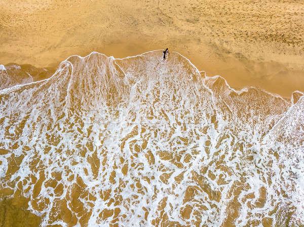 Tropical landscape of beach Stock photo © bezikus