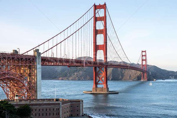 Bella cityscape Golden Gate Bridge meraviglioso view San Francisco Foto d'archivio © bezikus