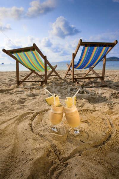 Tropical Beach Stock photo © bezikus