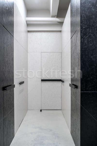 インテリア ロフト スタイル 壁 ストックフォト © bezikus