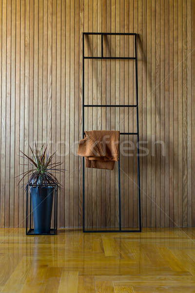 Metal stand with pullover Stock photo © bezikus
