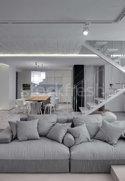 Room in modern style Stock photo © bezikus