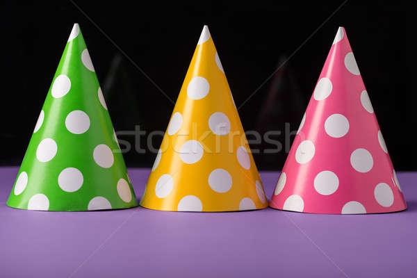 Three party hats Stock photo © bezikus