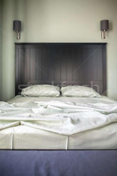 Bedroom in modern style Stock photo © bezikus