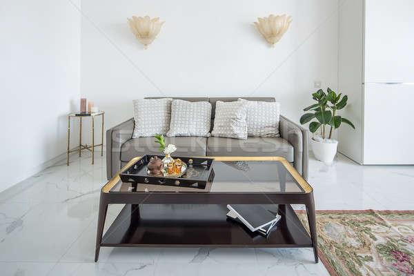 Foto stock: Quarto · estilo · moderno · branco · moderno · interior · azulejos