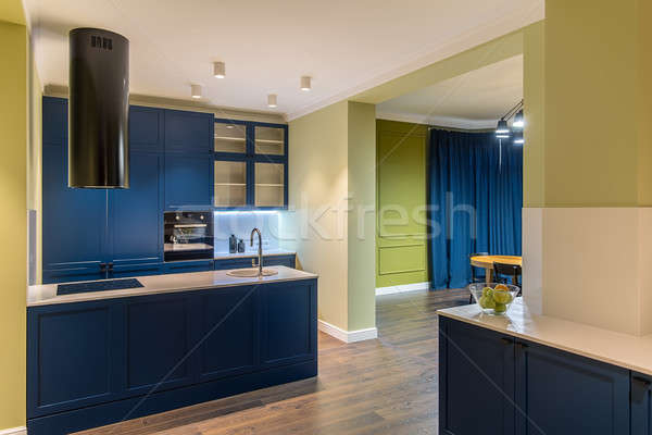 Kitchen in modern style Stock photo © bezikus
