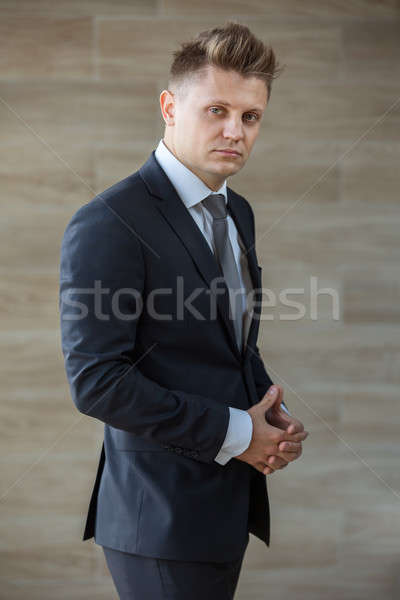 Portrait of a stylish businessman middle-aged Stock photo © bezikus