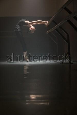 Legs of ballerina Stock photo © bezikus
