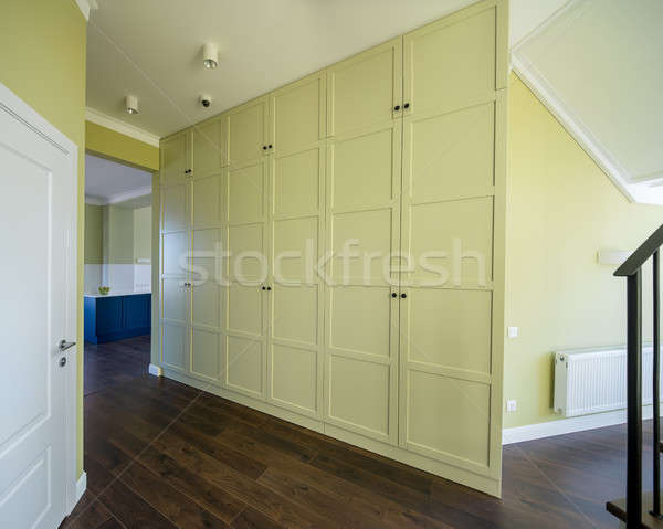 Interieur moderne stijl moderne licht muren vloer Stockfoto © bezikus