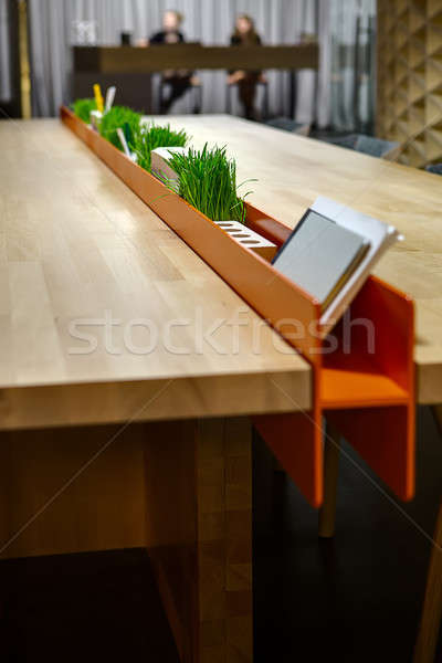 Tables with stand for office supplies Stock photo © bezikus