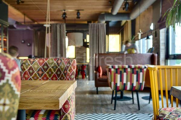 Mexican restaurant's interior Stock photo © bezikus