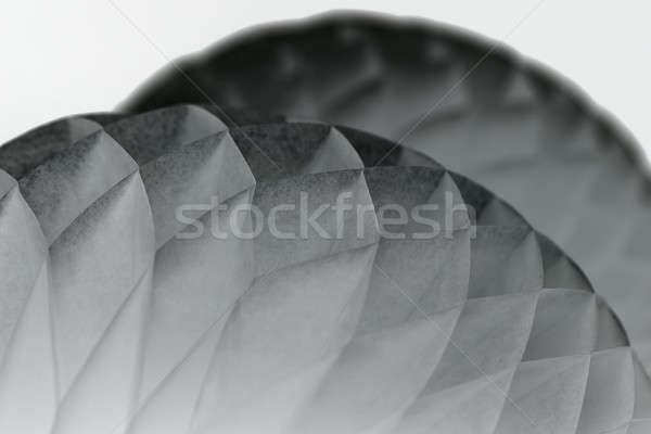 White paper origami Stock photo © bezikus