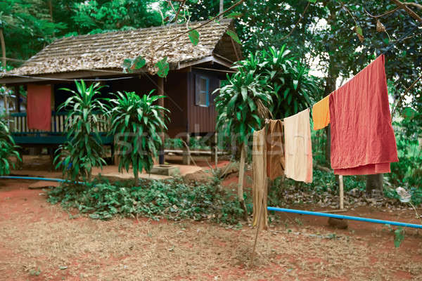 ネイティブ 家 ジャングル タイ アジア 夏 ストックフォト © bezikus