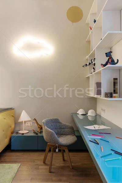 Stock photo: Children's room in modern style