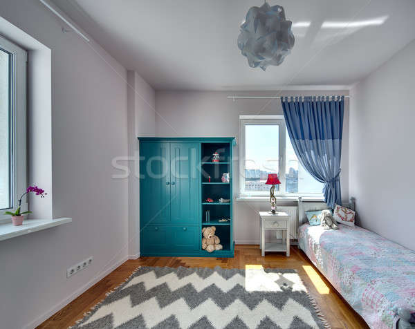 Bedroom for kid Stock photo © bezikus