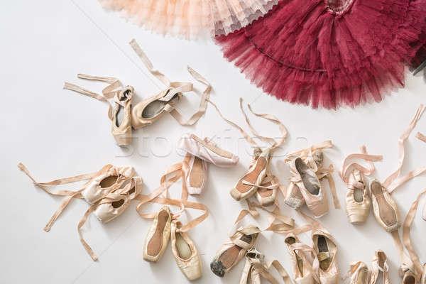 Tutus and ballet shoes Stock photo © bezikus