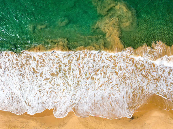 Tropical landscape of beach and sea Stock photo © bezikus