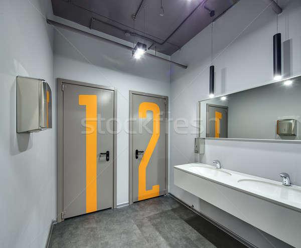 Restroom in a coworking Stock photo © bezikus