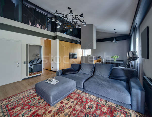 Modern style interior Stock photo © bezikus