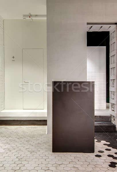 Luminous corridor in loft style Stock photo © bezikus