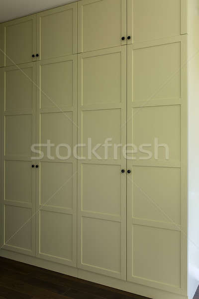 Wardrobe in modern style Stock photo © bezikus