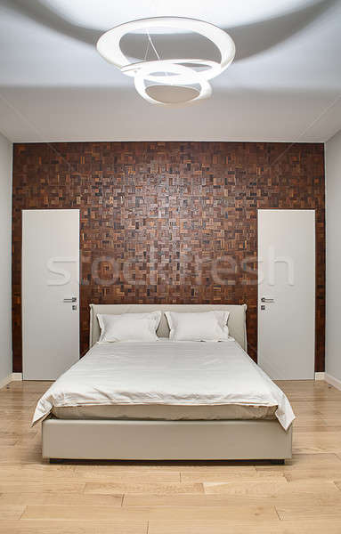 Bedroom in a modern style Stock photo © bezikus
