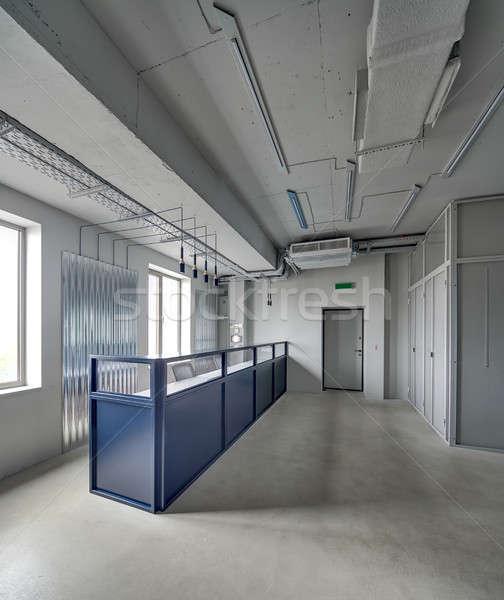 Office in loft style Stock photo © bezikus