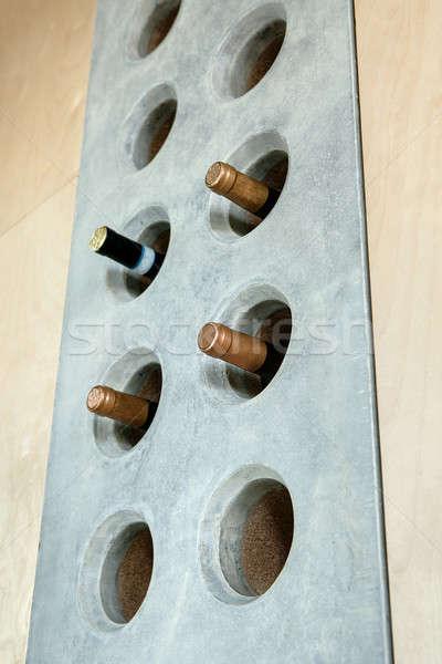 несколько бутылок вино специальный конкретные дыра Сток-фото © bezikus