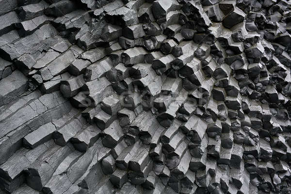Basalt column formation Stock photo © bezikus