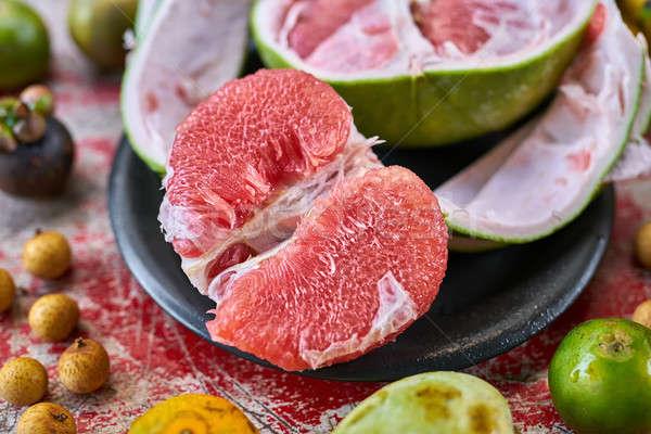 красочный экзотический фрукты чабер Сток-фото © bezikus
