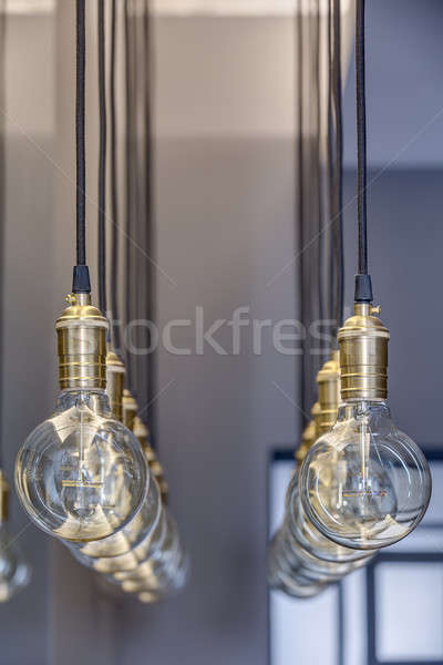 Edison lamps  Stock photo © bezikus