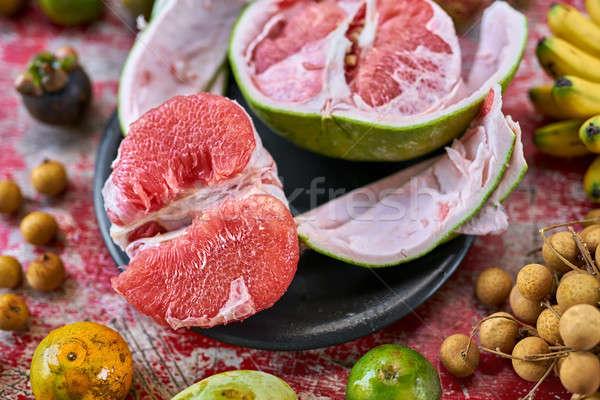 красочный экзотический фрукты аппетитный Сток-фото © bezikus