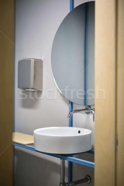 Restroom in business office Stock photo © bezikus