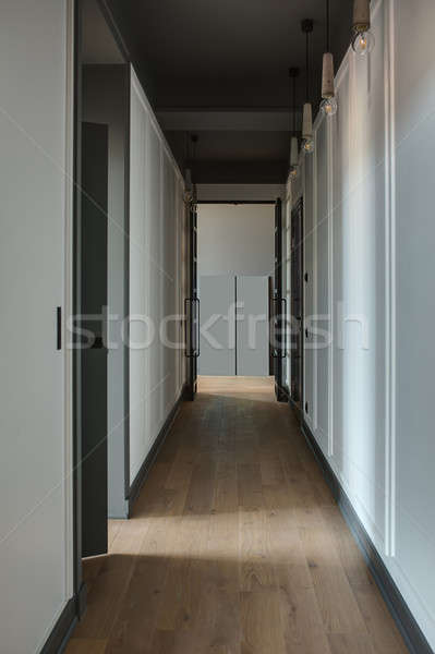Corridor in modern style Stock photo © bezikus