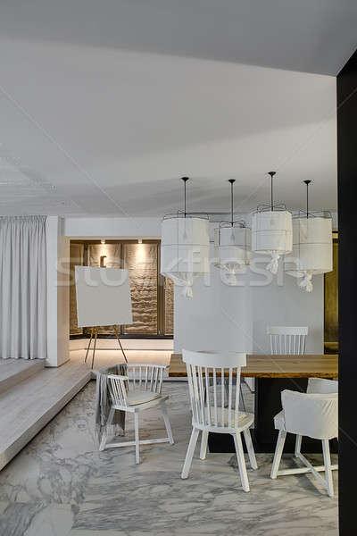 Hall in modern style Stock photo © bezikus