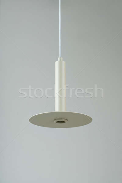 Metal enforcamento bege lâmpada excelente metálico Foto stock © bezikus