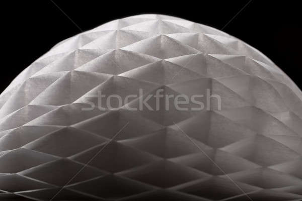 Bianco carta origami sola buio primo piano Foto d'archivio © bezikus