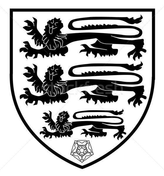 British Three Lions Crest Stock photo © Bigalbaloo