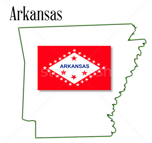 Arkansas Stock photo © Bigalbaloo