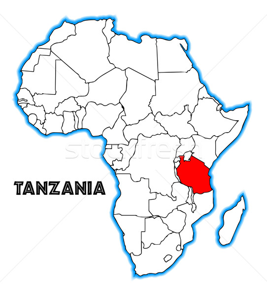 Tanzania Stock photo © Bigalbaloo