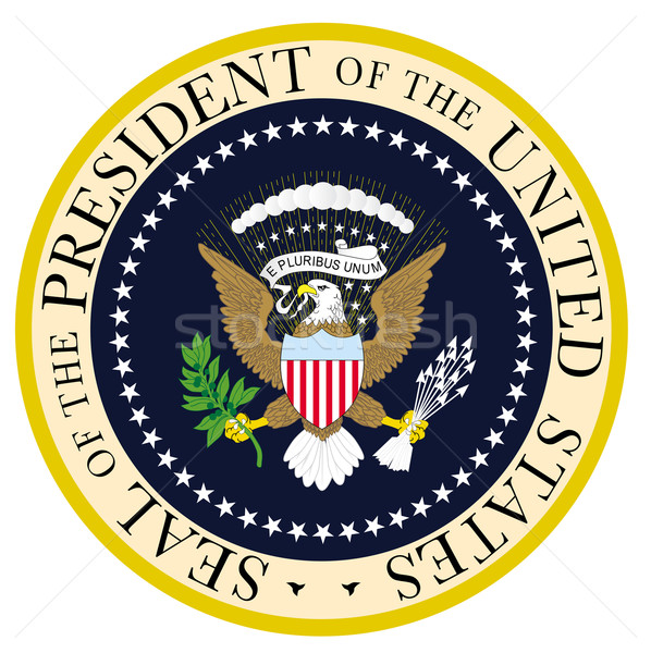 President Seal Stock photo © Bigalbaloo