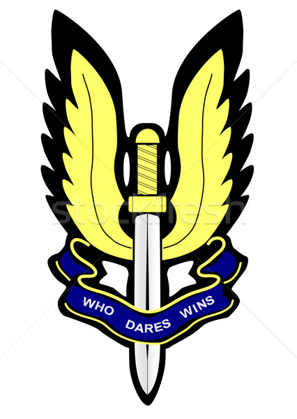 SAS Badge Stock photo © Bigalbaloo