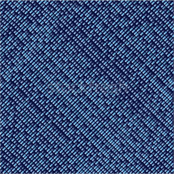 джинсовой квадратный синий стиль моде ткань Сток-фото © Bigalbaloo