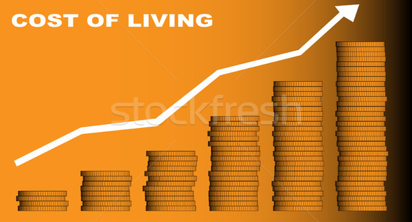 Cost of Living Stock photo © Bigalbaloo
