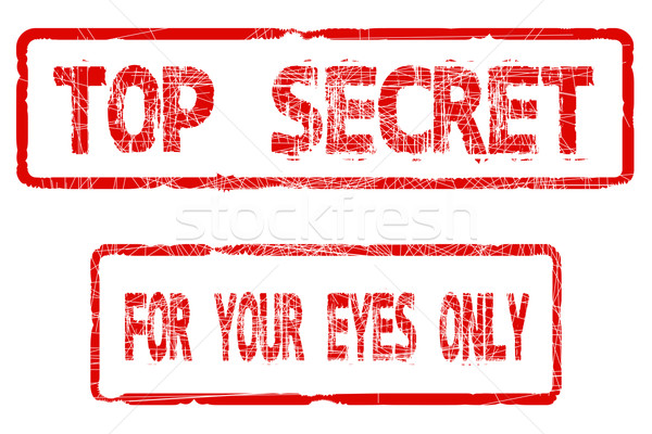 Top Secret For Your Eyes Only Stock photo © Bigalbaloo