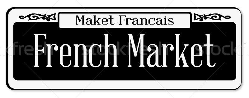 French Market Stock photo © Bigalbaloo